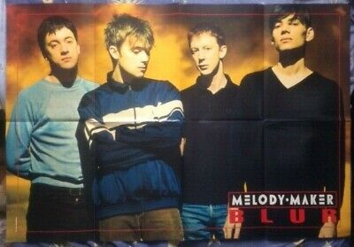 BLUR Original Vintage Melody Maker Poster (SP) • 35£