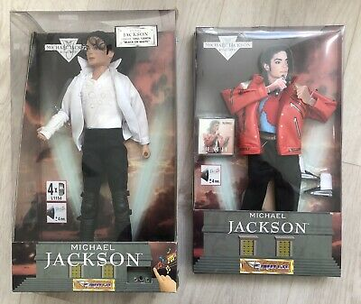 Rare Michael Jackson Doll. Sings Black Or White And Beat It + Extra Outfit • 99.99£