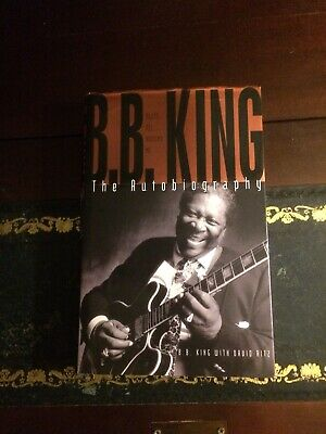 BB King SIGNED Autobiography Blues All Around Me 1st Edition. RARE ITEM. • 125£
