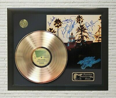 Eagles Framed LP Record Reproduction Signature Display   M4  • 104.99£
