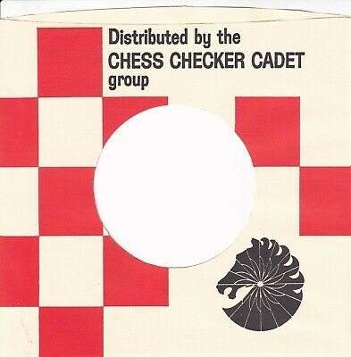 CHESS CHECKER CADET Company Reproduction Record Sleeves - (pack Of 15] • 7.95£