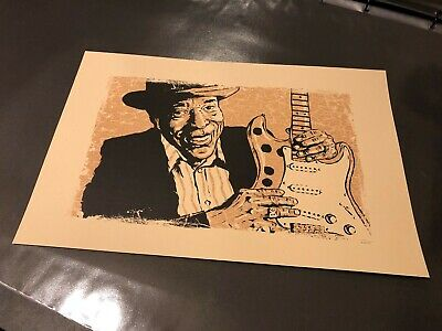 Blues Folk Art By Grego (MojoHand) - Buddy Guy | Signed | Sold Out | Mint • 8.50£