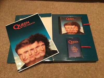 Queen - The Miracle UK Promo Box Set • 175£
