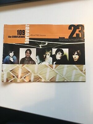 The Charlatans Tim Burgess 109 Indie Fan Club Fanzine Issue 23 Rare • 2.80£