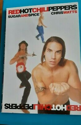 Red Hot Chili Peppers Book Sugar And Spice 1994 • 2.50£