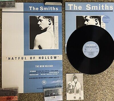 The Smiths Hatful Of Hollow PROMO PACK Including Promo Poster & Promo Postcard • 26£