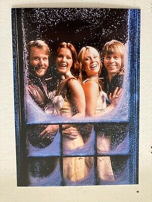 ABBA Promotional Postcard • 3.50£