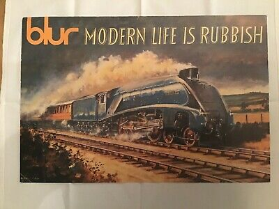 Blur Modern Life Is Rubbish PROMO Canvas Print  • 40£