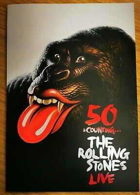50 And Counting...The Rolling Stones Live, Official Tour Programme • 15.99£