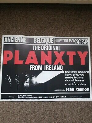 Planxty Christy Moore Poster • 100£