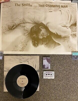 The Smiths This Charming Man PROMO PACK- Poster, First Press LP, Cassette • 24£