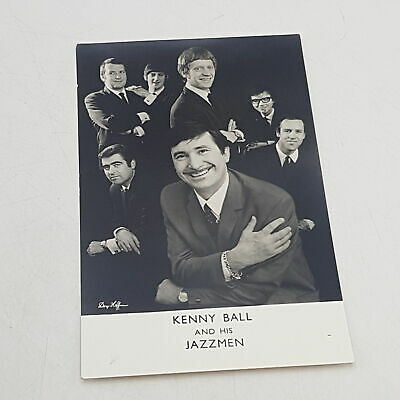 Vintage 1960's KENNY BALL AND HIS JAZZMEN 3½  X 5½  Promo Photograph [G] • 9.99£