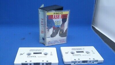 Various Artists - Smash Hits Party 88 Double Cassette Tape • 4.99£