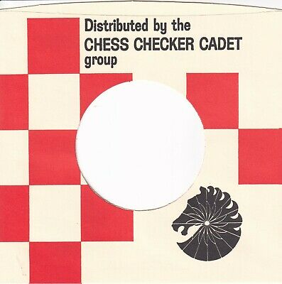 CHESS CHECKER  Company Reproduction Record Sleeves - (pack Of 5] • 3.95£