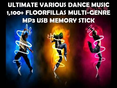 Dance Music DJ Collection MP3 USB - Multi Genre • 17.49£