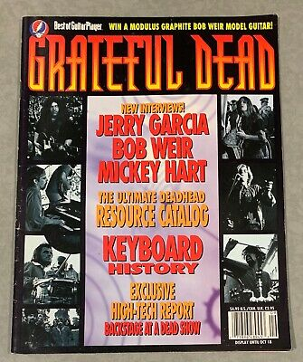 Best Of Guitar Player Magazine [Oct. 1993] Grateful Dead, Garcia, Weir, Hart... • 5.92£