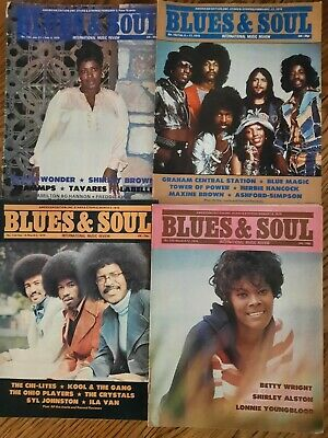 Blues And Soul Magazine: Issues 152,153,154,155 • 15.99£