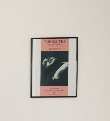 The Smiths The Queen Is Dead Poster 30x40cm • 4.95£
