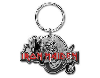 Iron Maiden Keyring The Number Of The Beast Eddie Official New Metal Keychain • 6.95£