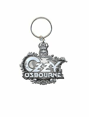 Ozzy Osbourne Keyring Keychain Crest Logo New Official One Size • 5.50£