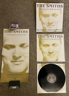 The Smiths Strangeways Here We Come PROMO PACK- UK LP, Poster & Promo Stand • 92£