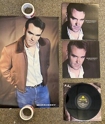Morrissey Vauxhall And I PROMO PACK- UK LP, Promo Flat, Promo Poster • 22.01£