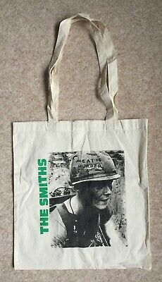 The Smiths Morrissey Meat Is Murder Tote Bag Cloth Shopping Unused • 3.99£