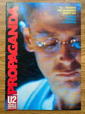 U2 Propaganda Magazine Issue No.7 World Service Magazine • 1.99£
