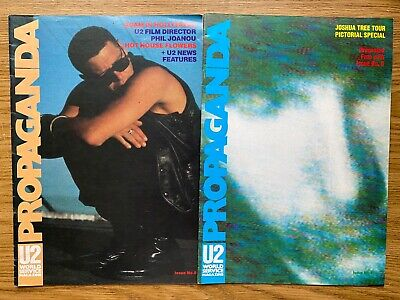U2 Propaganda Magazine Issue No.8 World Service Magazine • 2.50£