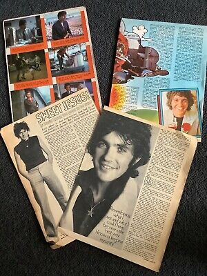 David Essex Press Clippings Early 1970's. ( Donny Osmond & Elton On Reverse) 📮 • 1.50£