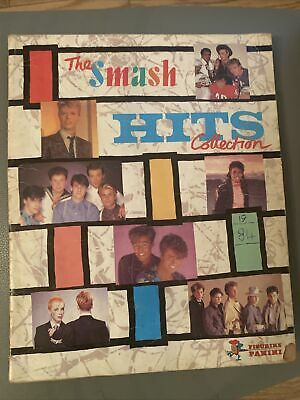 Smash Hits Collection Sticker Book 1984 Panini • 4£