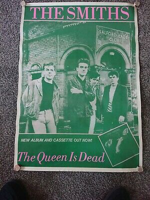 The Smiths. The Queen Is Dead Poster (from Around The 90 S?)  25  X 33.5  • 29.99£