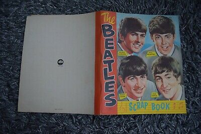 Official NEMS UK Beatles Scrap Book Scrapbook With 1966 * Clippings Cuttings #5 • 35.99£