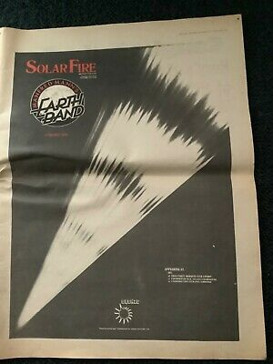 Manfred Mann's Earth Band Solar Fire/Jobriath MM Ad. Dec 1973. For Framing 📮 • 3£