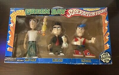RARE GREEN DAY Deluxe Figure 3 Pack Summer Sonic Variant 1/350 • 111.54£