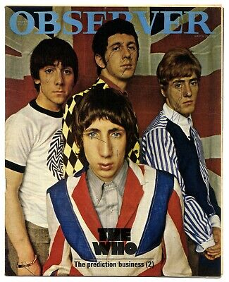 The Who Observer Magazine 22 March 1966 Complete 1 Day UK Magazine With 8 Page • 39£