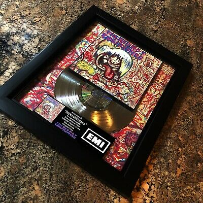 Red Hot Chili Peppers Self Titled Million Record Sales Music Award LP Vinyl • 141.86£