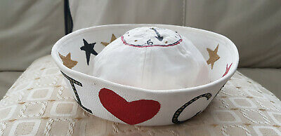 Rare Prop = CHER Living Proof Tour 2005 Decorated Sailor Hat. Turn Back Time! • 60£