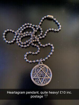 HIM Heartagram Necklace  • 10£