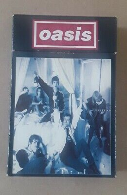 Oasis Cigarettes & Alcohol Cigarette Cassette Single Rare Ltd Edition 1994 MINT • 23£