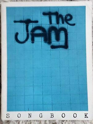 The Jam, In The City Songbook 1979 Vg • 10£