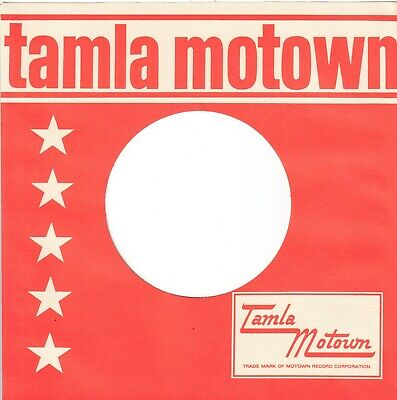 TAMLA MOTOWN Company Reproduction Record Sleeves - Straight Top,  (pack Of 15] • 8.25£