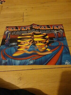 Helter Skelter Rave Flyer From 1993 • 6.50£