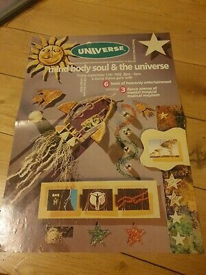 Universe Mind Body And The Universe Flyer  • 3.50£