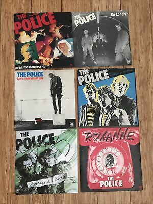 The Police Limited Edition Blue Vinyl Singles 6 Pack. • 15£