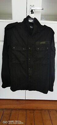 Oasis OFFICIAL Jacket Indie Mod Band MILITARY STYLE Size LARGE MENS - NEW - LIAM • 35£