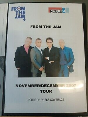 The Jam/From The Jam Noble PR Press Coverage 2007 Tour Ultra Rare Collection • 225£