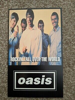 OASIS Promo Postcards Etc • 10£