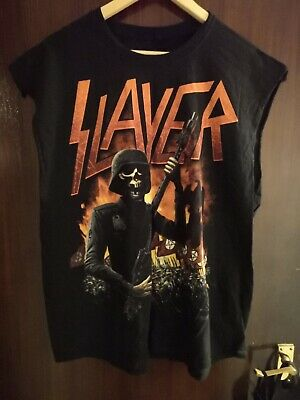 Slayer 2013/14 World Tour T-shirt Size XL, Used Once In A Photo Shoot. • 9.99£