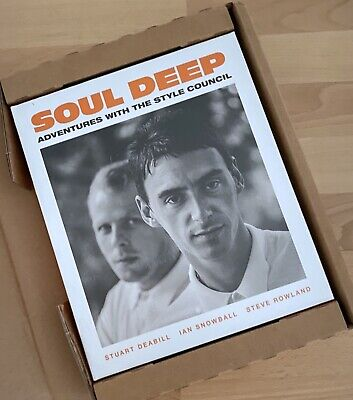 UNOPENED Soul Deep Adventures With Style Council (Paul Weller) Hardback Book   • 66£